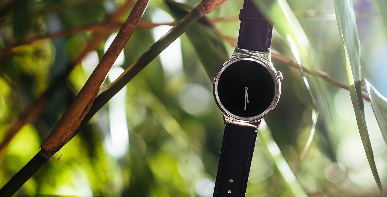 Huawei Watch Bambus bearbeitet
