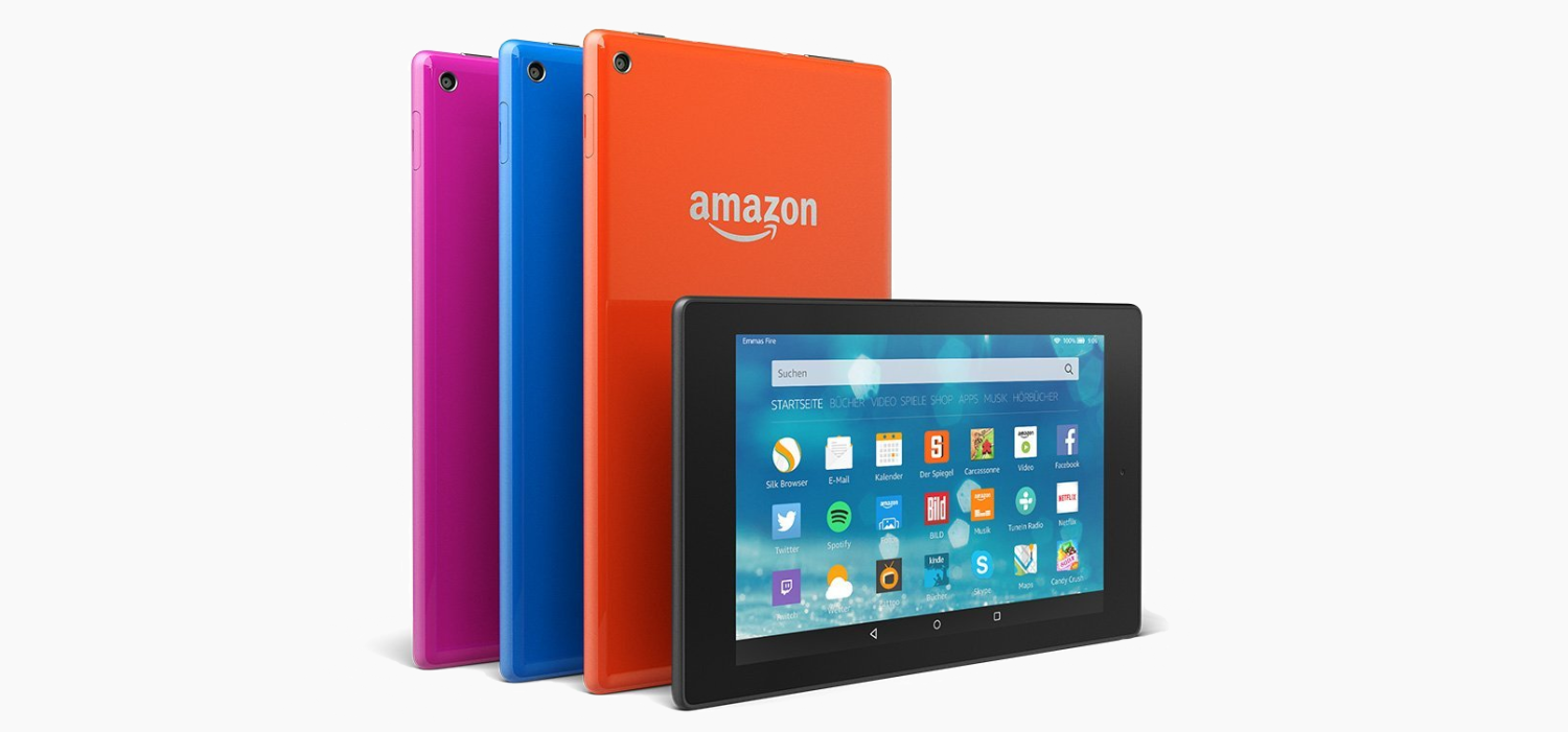 Amazon Fire HD8 Farbauswahl